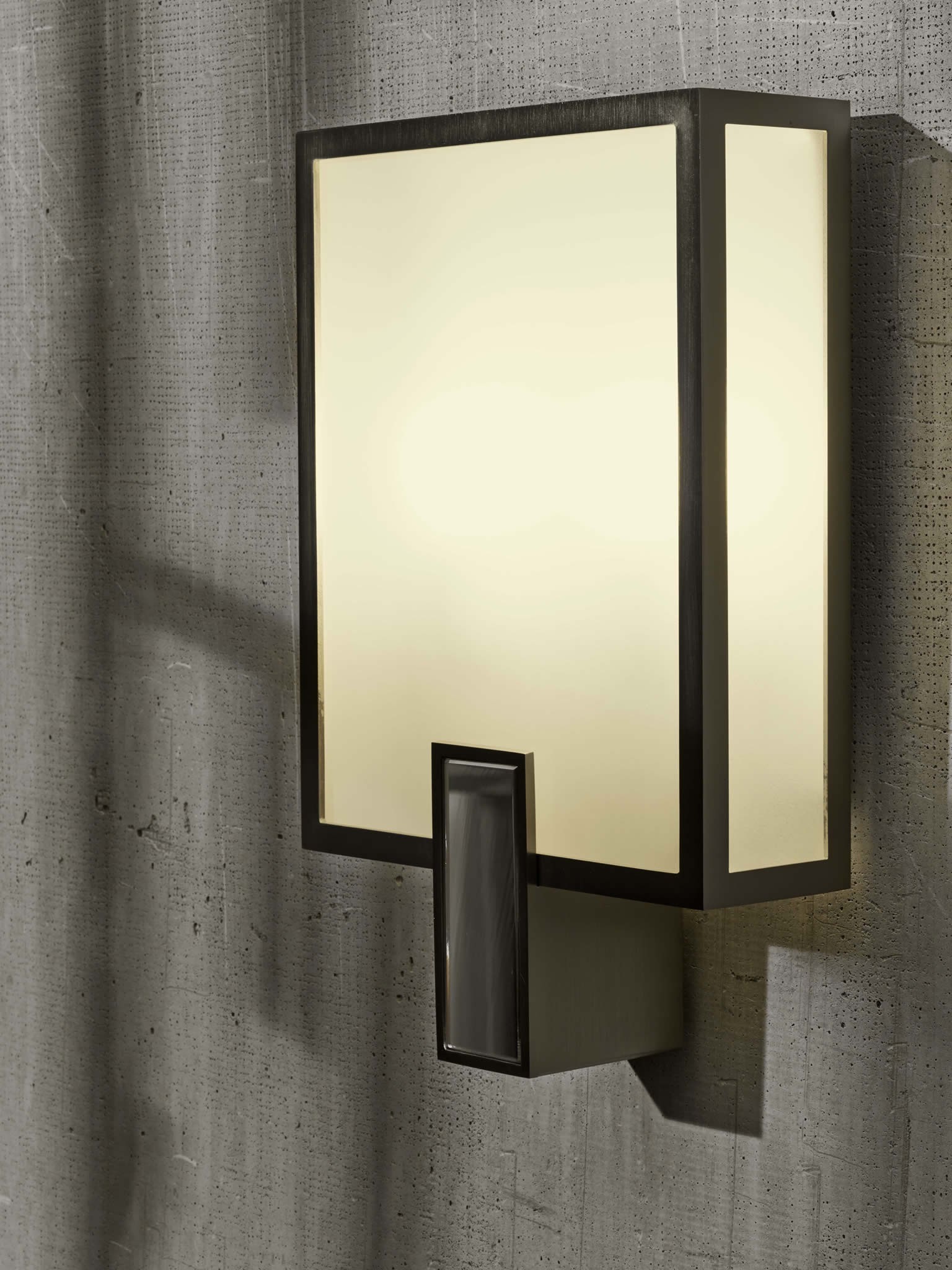 Wall Light Switch Remote Control : CL Sterling & Son Rectangular Wall Sconce