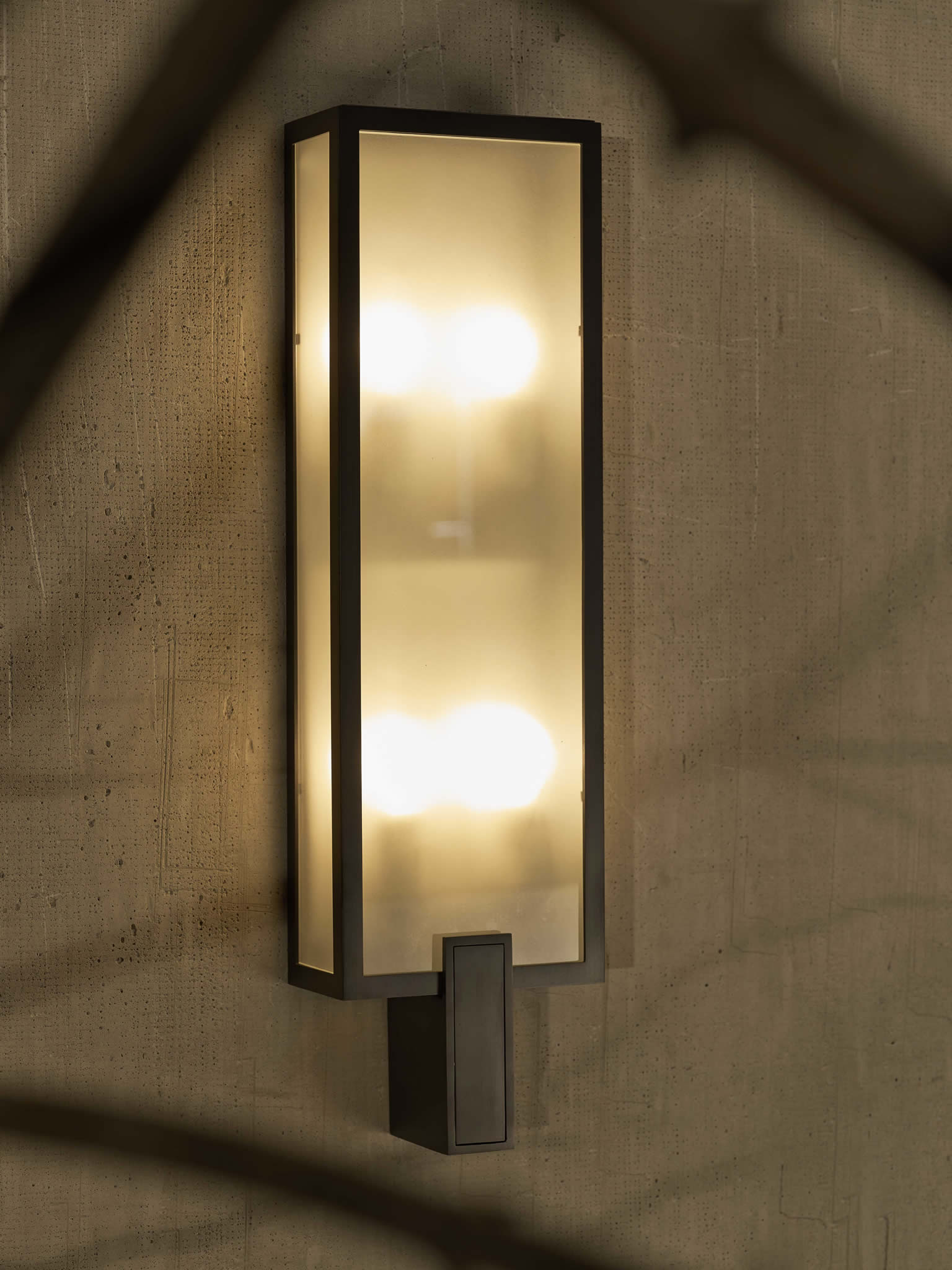 CL Sterling & Son | Exterior Tall Wall Sconce