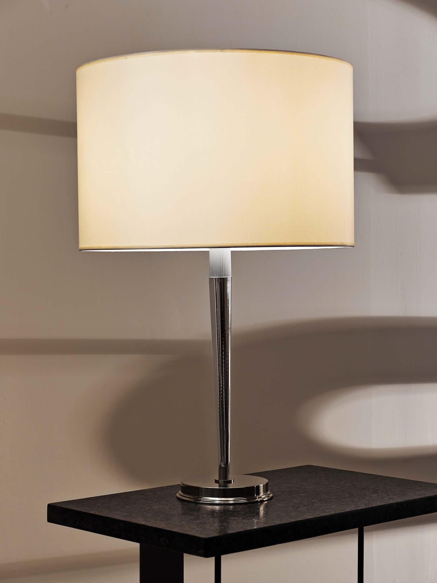 Cl sterling son tapered table lamp for Table 52 2014