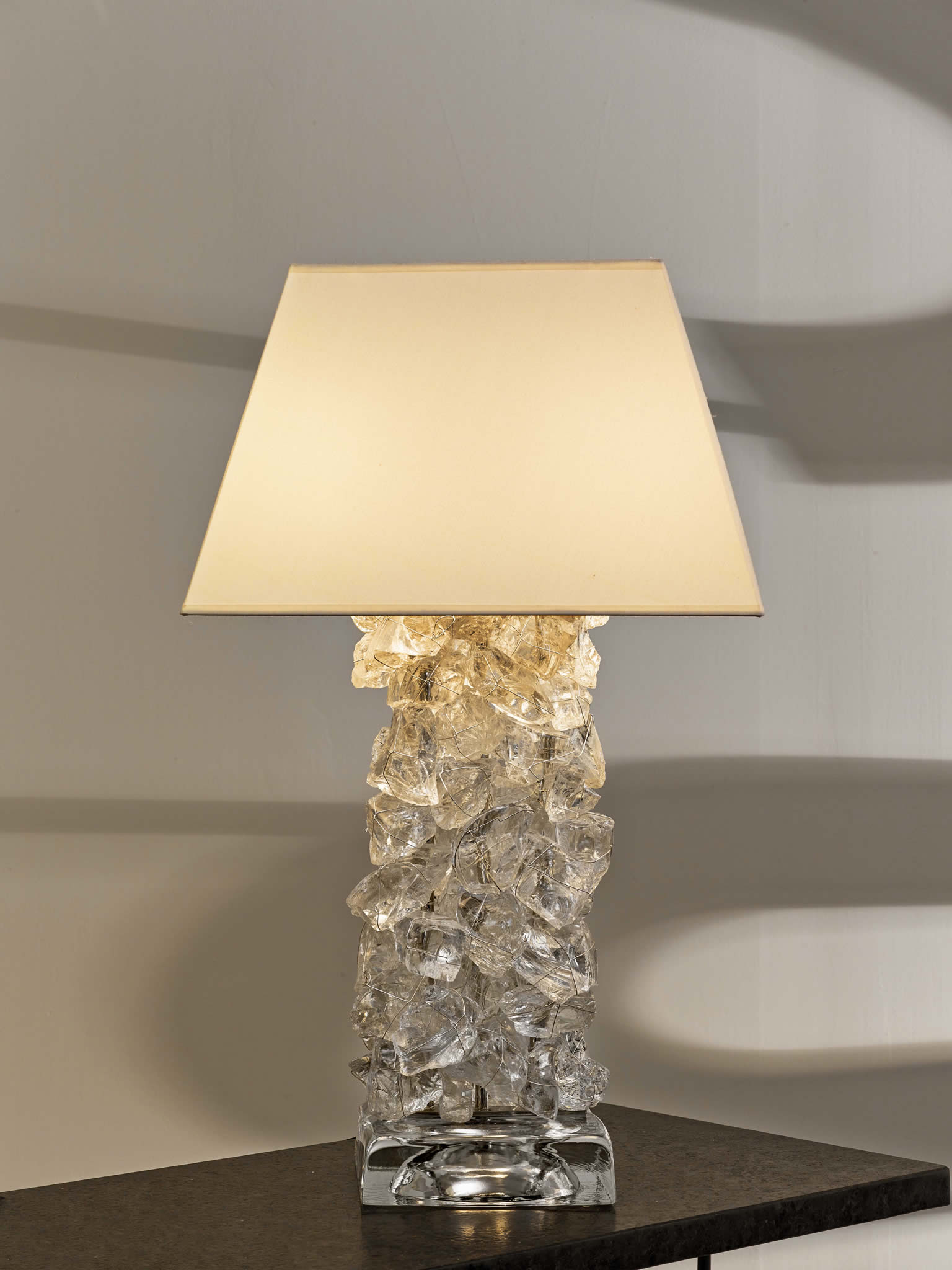 Rock Table Lamps: Rock Pile Table Lamp,Lighting
